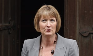 Harriet Harman … might as well stand down.
