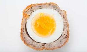 A Philip Baker Scotch egg