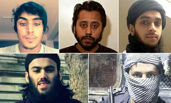 Clockwise from top left: Muhammad Mehdi Hassan; Mushudur Choudhury; Muhammad Hamidur Rahman; Asad Uzzaman; Ifthekar Jaman