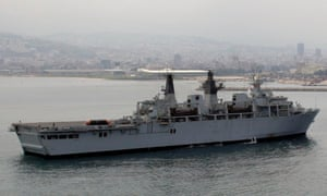 HMS Bulwark, the former Royal Navy flagship