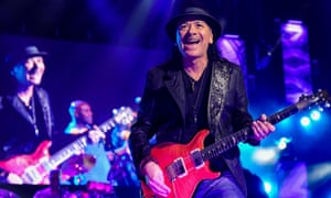 Santana review – defiantly contemporary Latin fusion   Music
