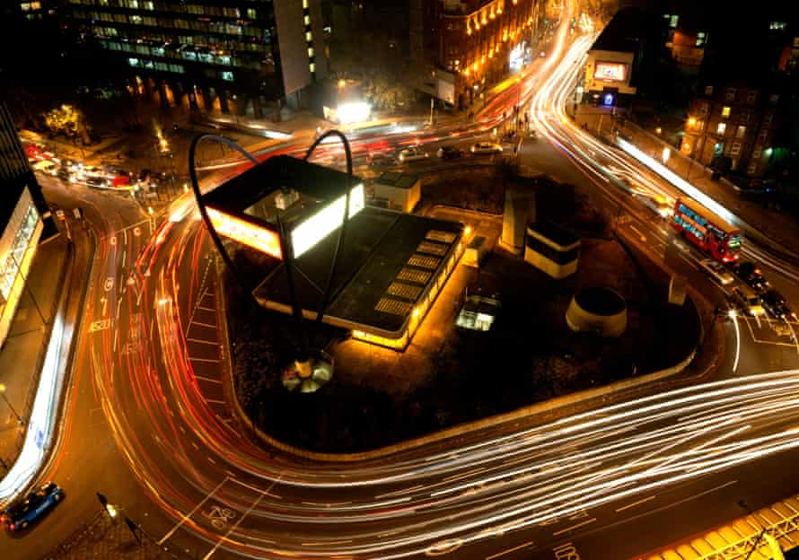 Silicon Roundabout in London.