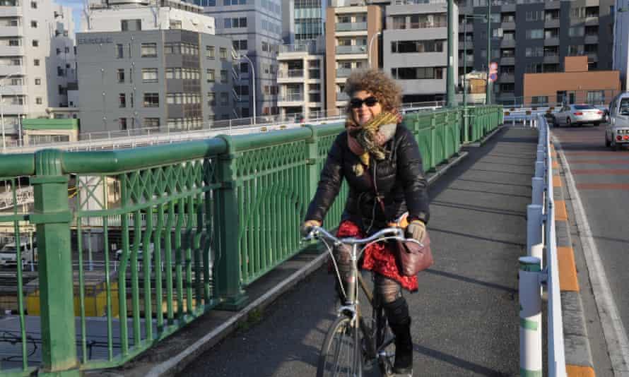 Cycling advocate Sue Abbott
