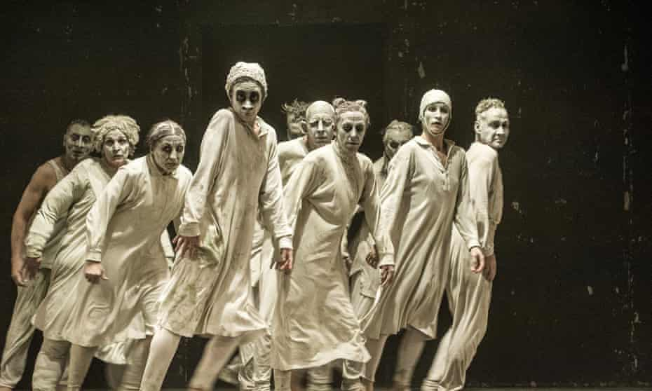May B not after all … Maguy Marin dance company.