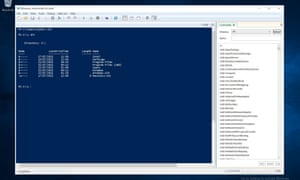 The Powershell command system