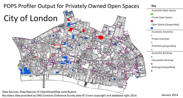 The privatisation of cities' public spaces is escalating  It