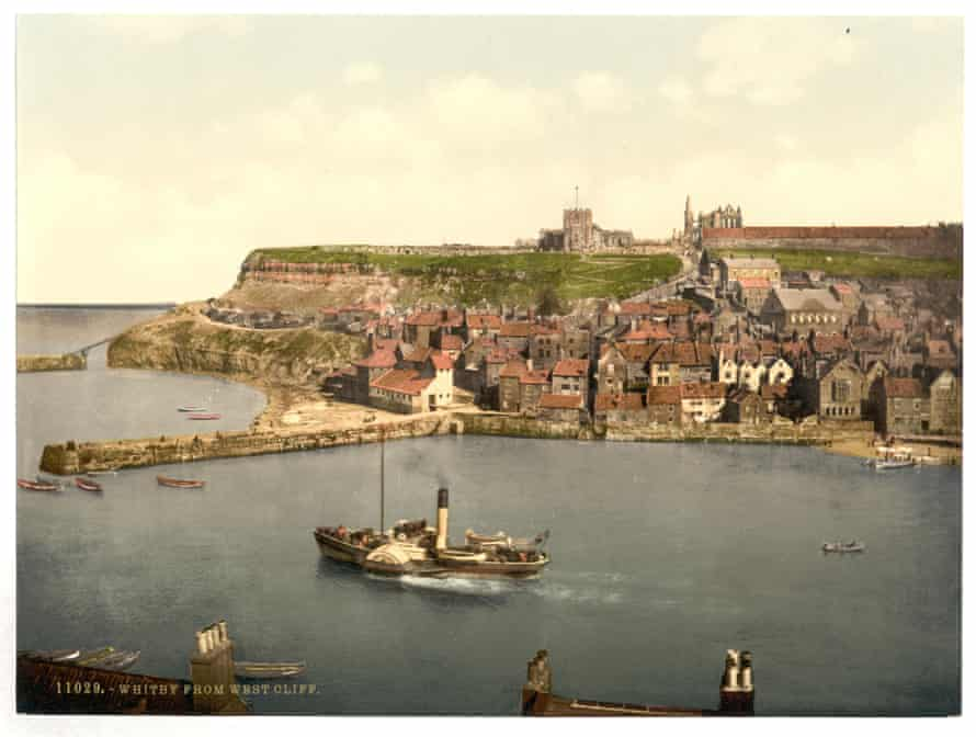 Whitby, from West Cliff, Yorkshire, England. Date between ca. 1890 and ca. 1900.