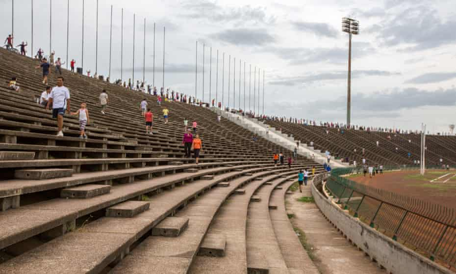 Phnom Penh's National Stadium.