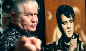 Paul Macleod at his home dedicated to Elvis Presley, in 2009.