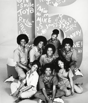 We are family … The Jackson 5 and sisters