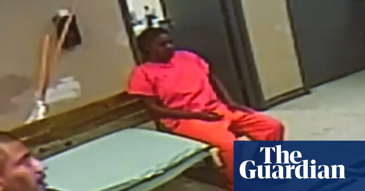 New video of Sandra Bland's jail booking released – video
