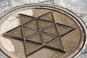 <strong>Toledo, Spain<br></strong>A drain cover in the Jewish quarter of the city