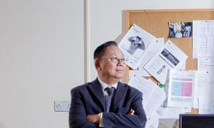 Oldie workers: Sidney Htut