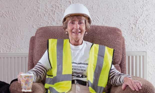 Oldie workers: Pat Thomson
