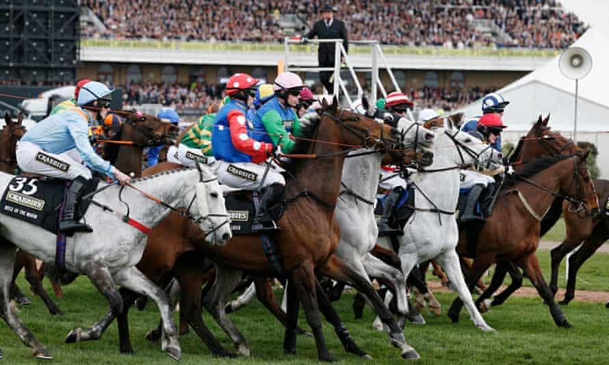 Aintree racing Grand National