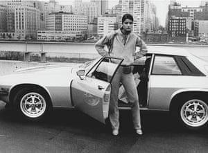 Janice Dickinson modelling in New York in 1976