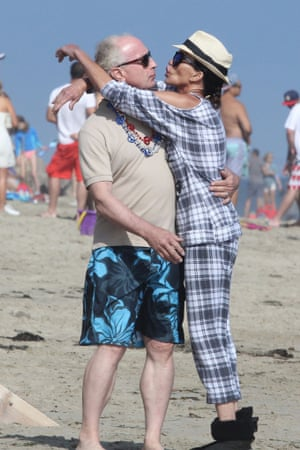Janice Dickinson with her fiance, DrRobert Gerner