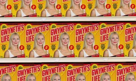 Gwyneth Paltrow on the shelf