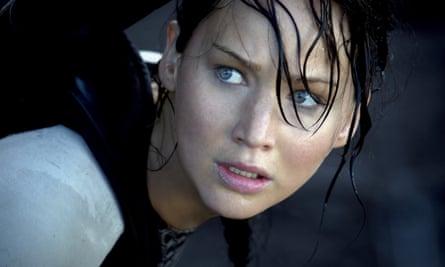 Katniss Everdene in Catching Fire.
