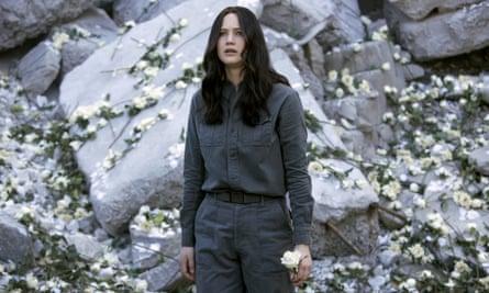 Katniss Everdene in Mockingjay, part 1