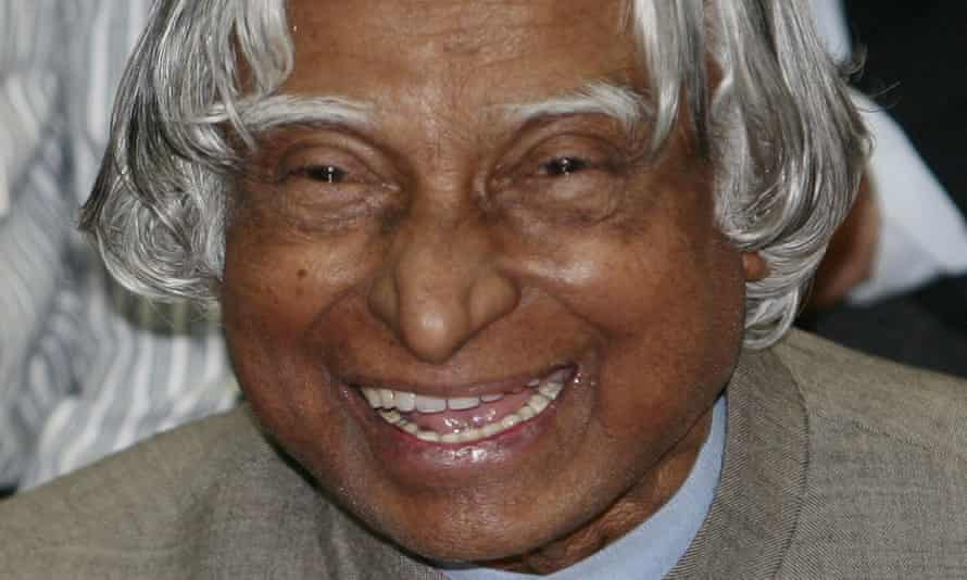 APJ Abdul Kalam, former Indian president, who has died aged 83