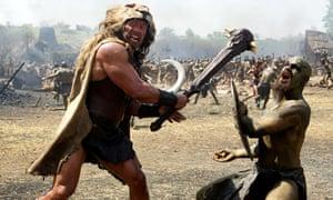 Dwayne Johnson as Hercules