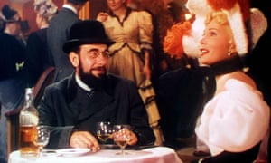 Gabor in Moulin Rouge.