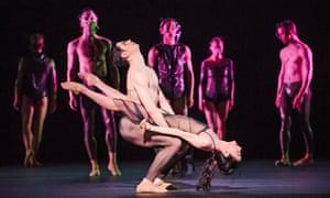 Alessandra Ferri and Federico Bonelli in Part 3: Tuesday from Woolf Works at the Royal Opera House, choreographed by Wayne McGregor.