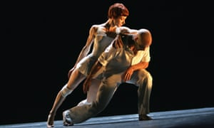 Sylvie Guillem (here with Russell Maliphant) is dancing farewell performances at 50 to a standard many artists can only dream of.