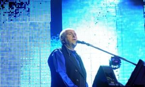 Peter Gabriel at the WOMAD festival.