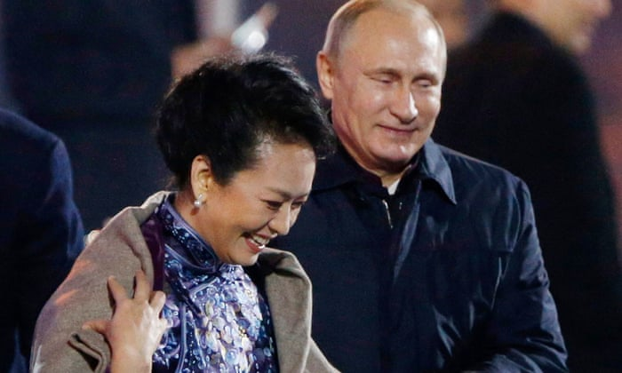 China and Russia: the world's new superpower axis? | World news