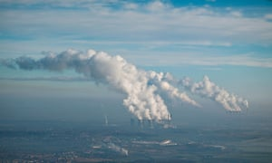 Ferrybridge, Eggborough and Drax Coal Fired Power Stations, Yorkshire on January 2009