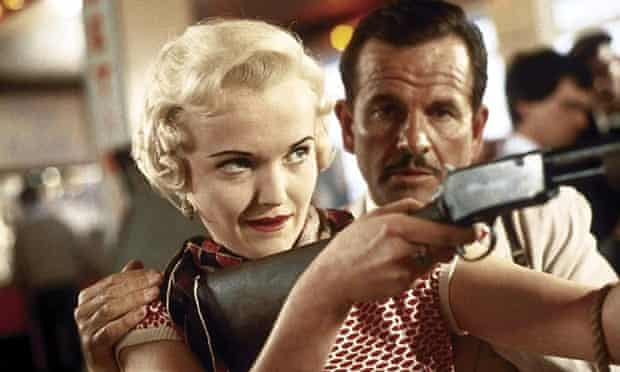 Ian Holm with Miranda Richardson in Dance with a Stranger.