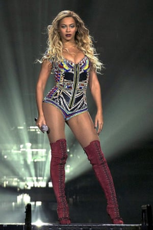 Beyonce in concert on her Mrs. Carter World Tour at the O2, London, Britain - 04 Mar 2014