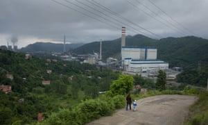 23/06/2015 Turkey.Zonguldak. A coal power sation near the town.