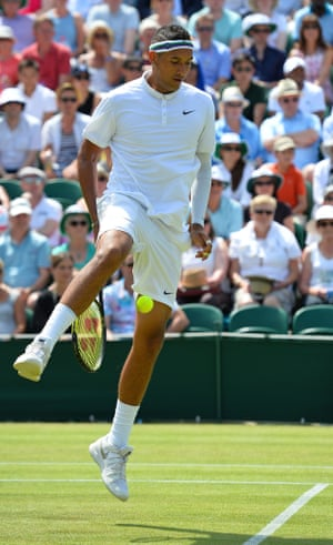 The entertainer ... the other side of Nick Kyrgios.