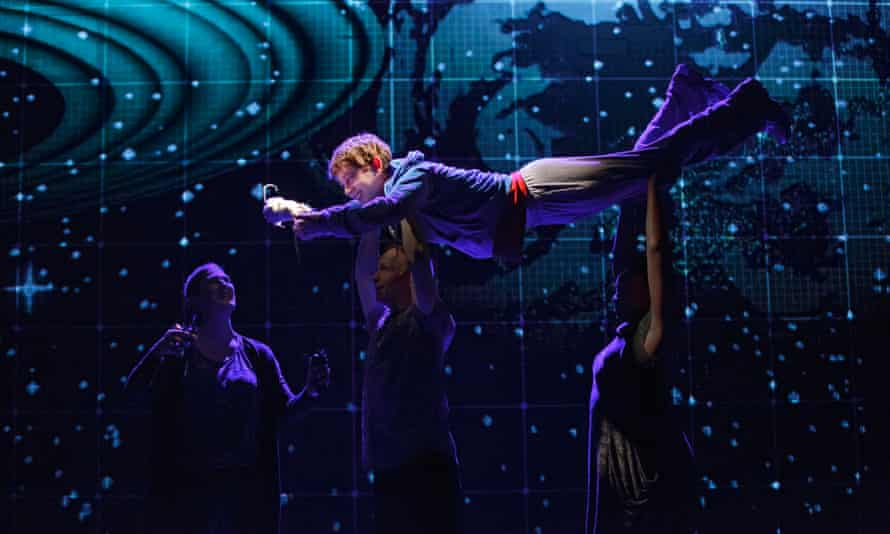 Alex Sharp in The Curious Incident of the Dog in the Night-Time.