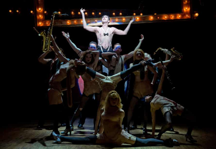 Alan Cumming presides over the Broadway production of Cabaret, which started at London's Donmar Warehouse.