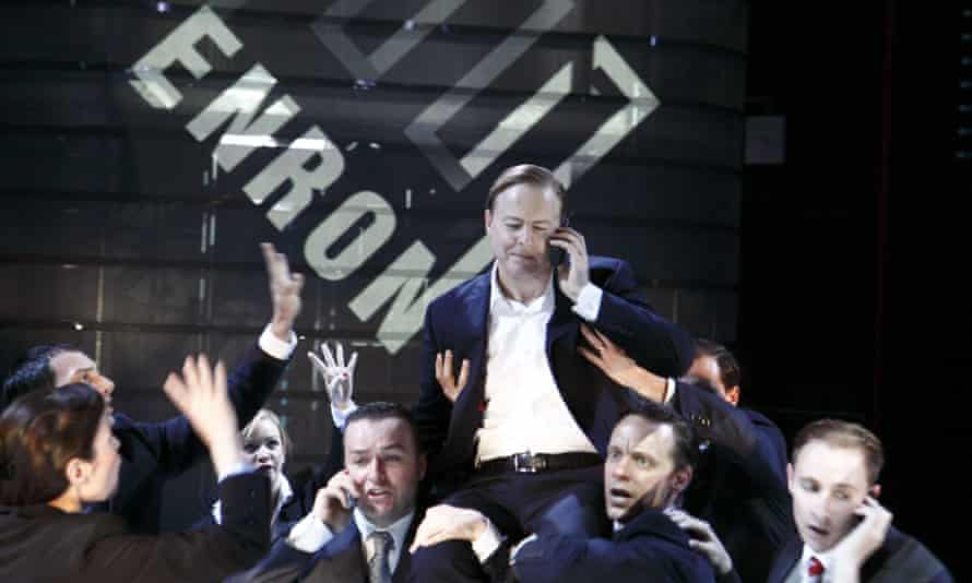 The first British production of Enron; a hit in the UK, it closed after 12 days on Broadway.