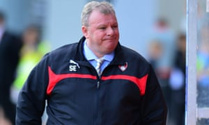 Rotherham United manager Steve Evans, the longest-serving manager currently in the Championship.