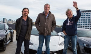 Former Top Gear stars Richard Hammond, Jeremy Clarkson and James May have signed a deal with Amazon