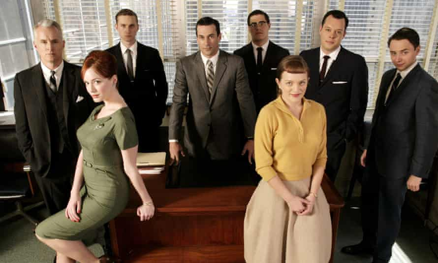 The cast of Mad Men, series 1