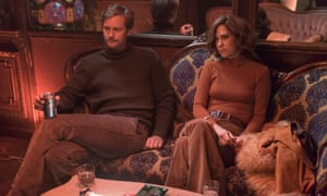 Striking cords: Skarsgard with Kristen Wiig in Diary Of A Teenage Girl.