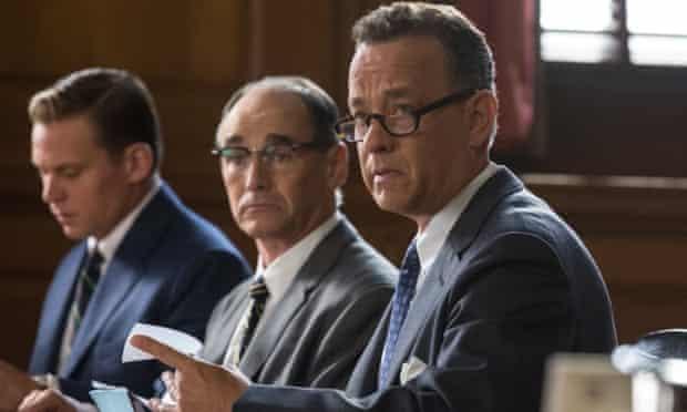 Tom Hanks in Steven Spielberg's Bridge of Spies.