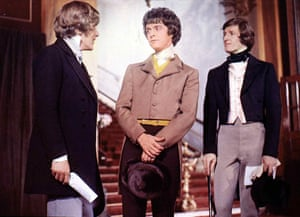 Robin Phillips, centre, as Charles Dickens' David Copperfield in the 1969 television adaptation.