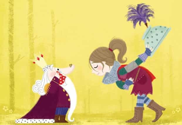 Steven Lenton's Princess Daisy leads the fight against Nincompoop Knights.