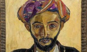 Irma Stern's painting Arab In Black.
