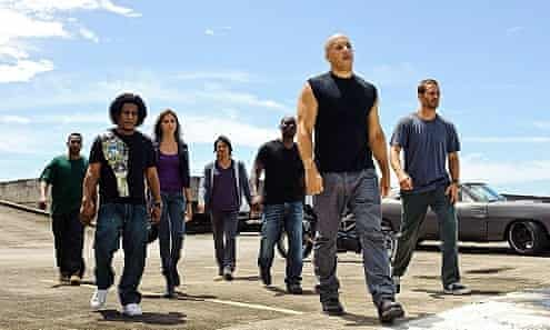 Try to keep up – Vin Diesel in Fast & Furious 7.