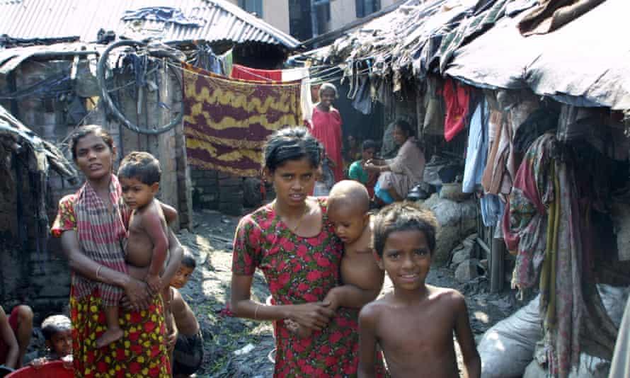 Children in the slums of Chittagong, Bangladesh