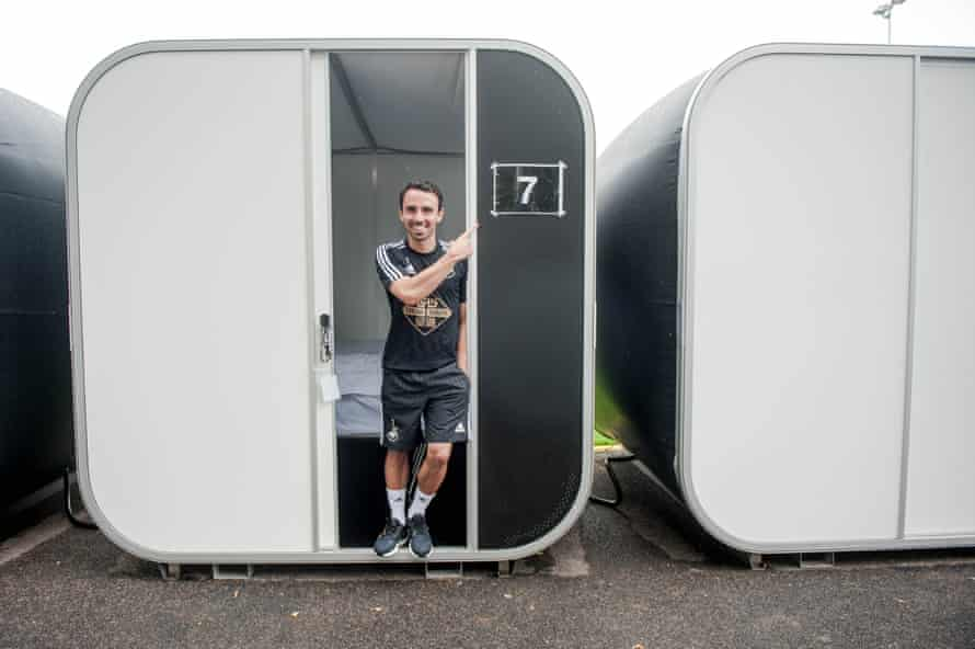 Swansea City use 'sleep pods' to allow players to snooze between training sessions. Sleep is now seen as key in effective physiological recovery.